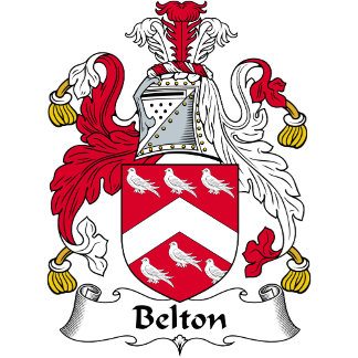 Belton Family Crest / Coat of Arms