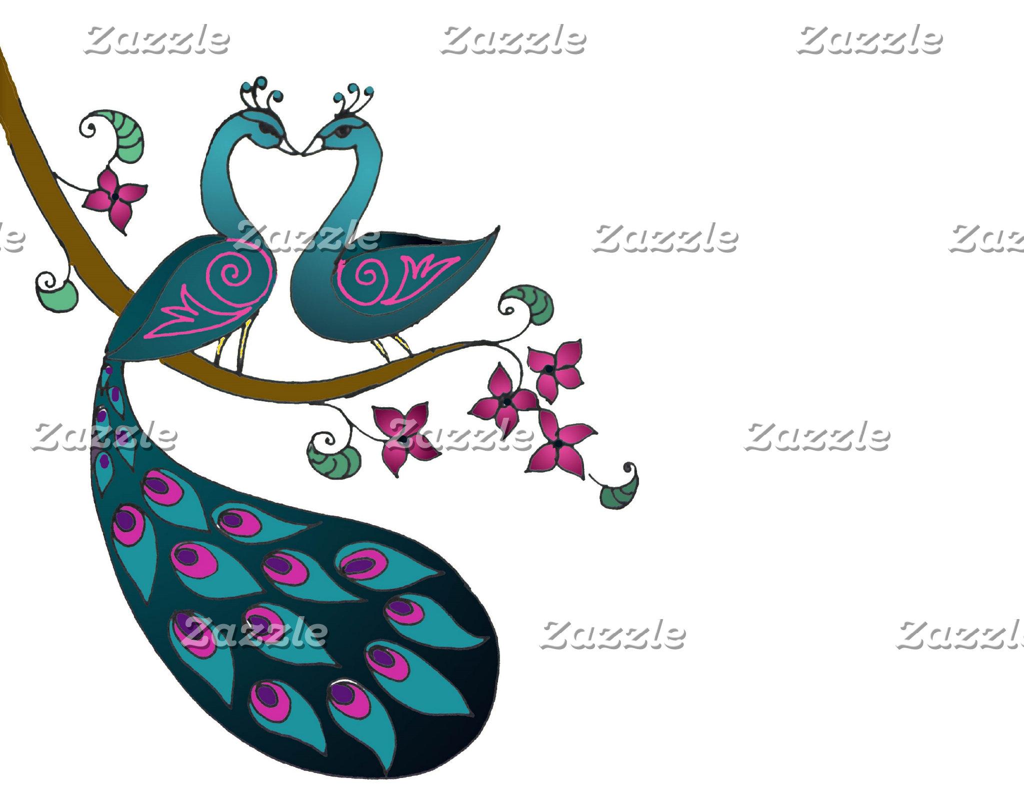 Peacock Wedding