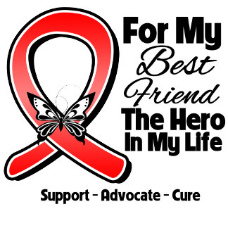 Red Ribbon For My Hero My Best Friend