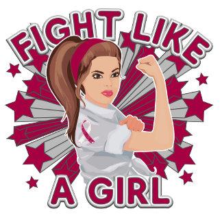 Head and Neck Cancer Modern Rosie Fight