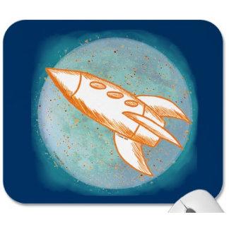Orange Moon Rocket