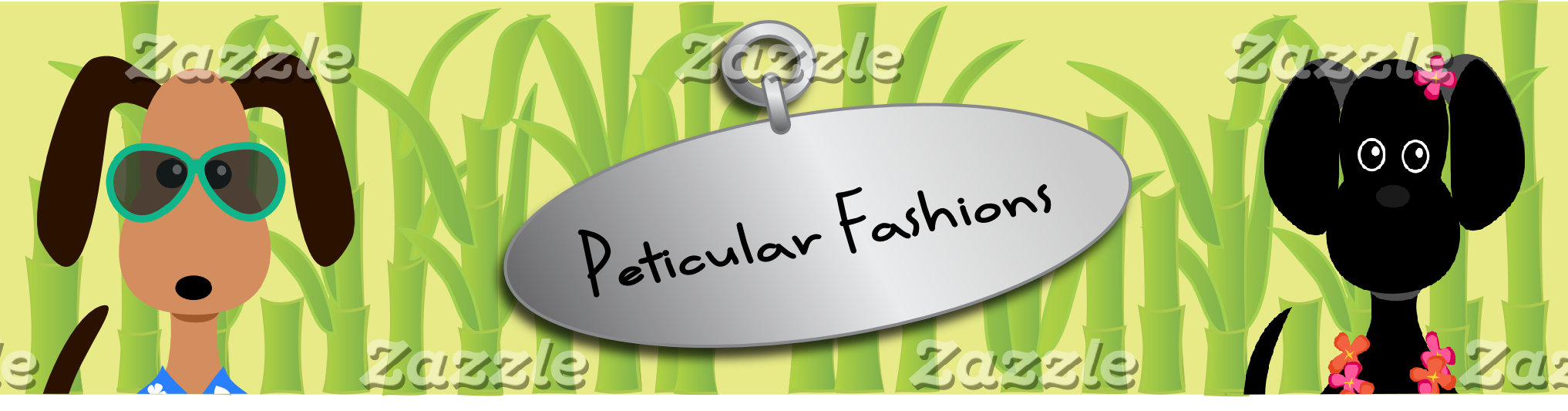 Peticular Fashions Opening Day Banner