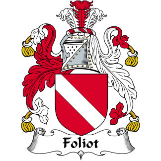 Foliot Family Crest / Coat of Arms