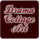 Drama Collage Art