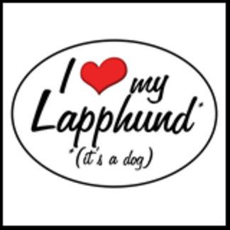 I Love My Lapphund (It's a Dog)