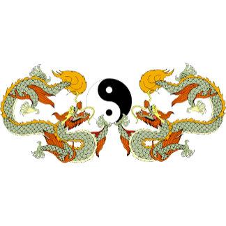 Dragons Ying Yang T-Shirt
