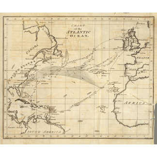 Chart of the Atlantic Ocean 2