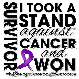 I Took a Stand Against Leiomyosarcoma Cancer