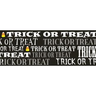 Halloween Trick or Treat Pattern