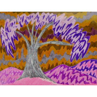 Burchfield Style Tree 2