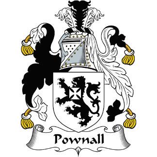 Pownall Family Crest