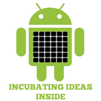Incubating Ideas Inside (Bug Droid Illusion)