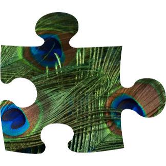 Peacock Puzzle Piece