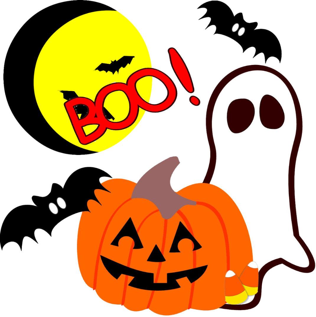 Adorable Halloween Ghosts
