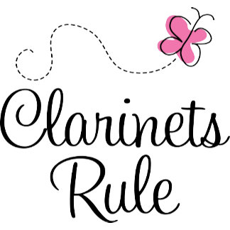 Clarinets Rule T shirts and Gifts