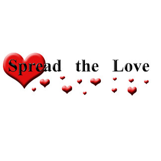 Spread the Love - Black fonts