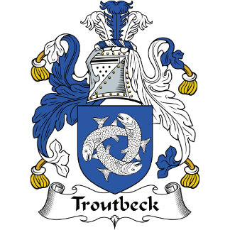 Troutbeck Family Crest