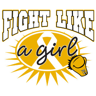 Appendix Cancer Fight Like A Girl Sporty Callout