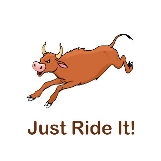 Just Ride It With Brown Bucking Bull