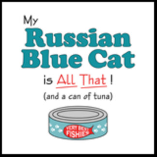 My Russian Blue Cat is All That!