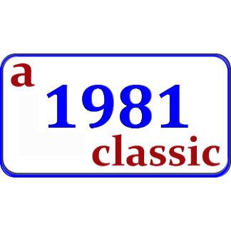 1981, 30th Birthday Gifts!