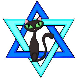 Cute Jewish Cat Stars