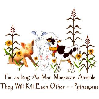 Pythagoras Vegetarian quote