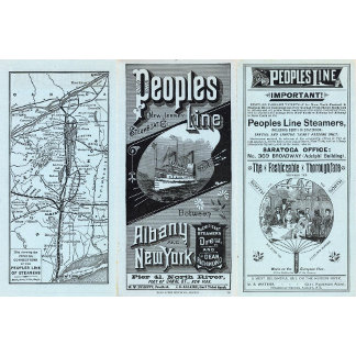 Map Peoples Line of Steamers
