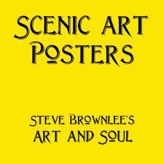 Scenic Art Posters