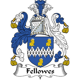 Fellowes Family Crest / Coat of Arms