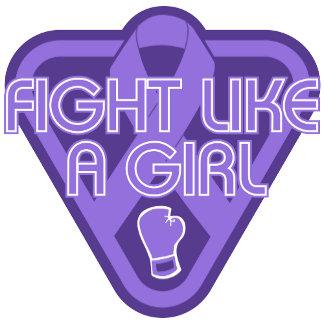 Hodgkins Lymphoma Fight Like A Girl Glove