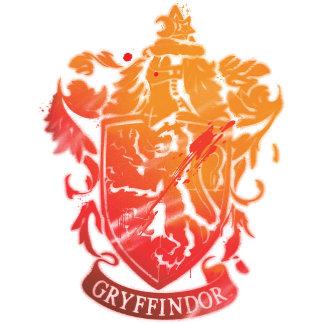 Gryffindor Crest - Splattered