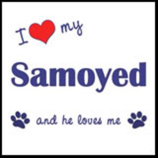 I Love My Samoyed (Male Dog)