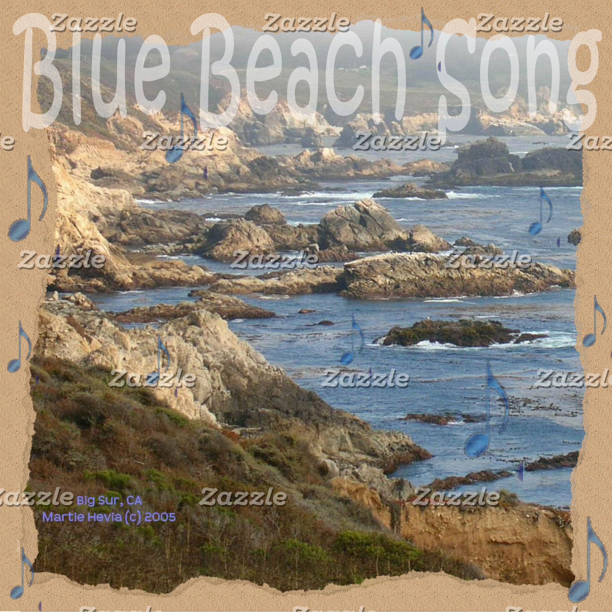 Blue Beach Song™ Promotional