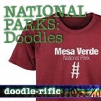 Doodles National Park & Monument T-Shirts