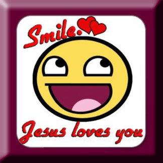 SMILE-JESUS LOVES YOU