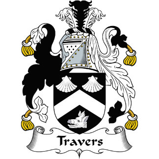 Travers Family Crest