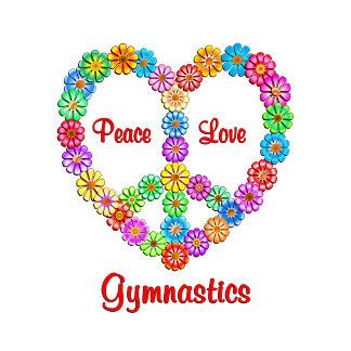 Gymnastics Peace Love