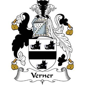 Verner Family Crest