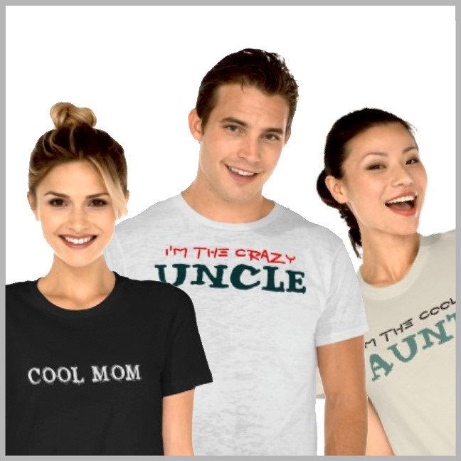 Moms, Dads, Aunts, Uncles