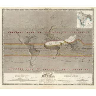 Hyetographic rain map