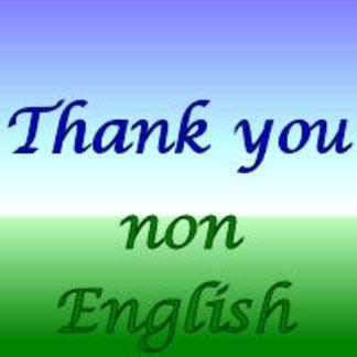 Thank You Gifts Non-English