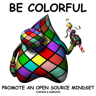 Be Colorful Promote An Open Source Mindset