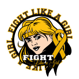 Appendix Cancer Fight Like A Girl Attitude