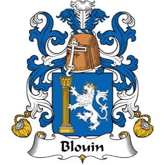 Blouin Family Crest