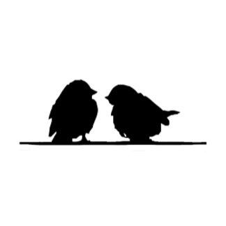 cute Bird Silhouette