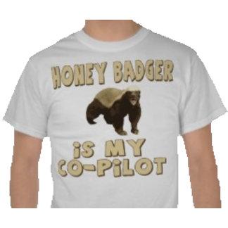 Honey Badger Is My Co-Pilot
