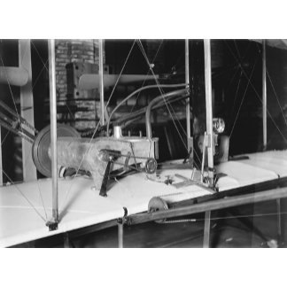 1903 Plane Motor from Wright Brothers' Shop