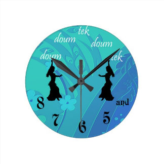 Bellydancer Clocks