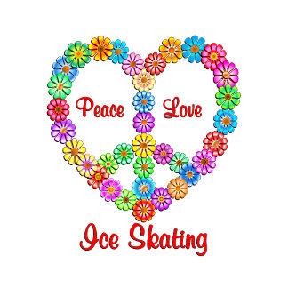 Ice Skating Peace Love